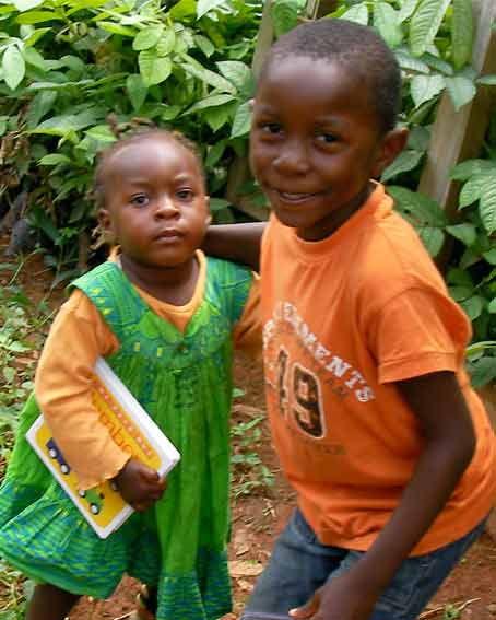Cameroon children
